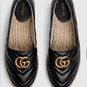 🖤 Gucci Leather espadrille with Double G 🖤